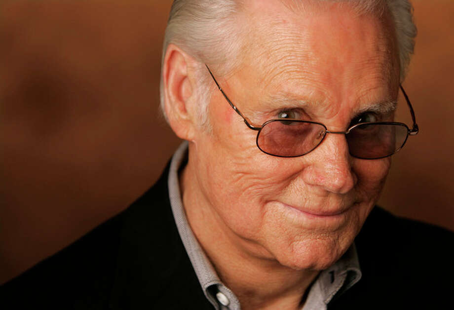 """FILE - In this Jan. 10, 2007 file photo, George Jones is shown in Nashville, Tenn. Jones, the peerless, hard-living country singer who recorded dozens of hits about good times and regrets and peaked with the heartbreaking classic """"He Stopped Loving Her Today,"""" has died. He was 81. Jones died Friday, April 26, 2013 at Vanderbilt University Medical Center in Nashville after being hospitalized with fever and irregular blood pressure, according to his publicist Kirt Webster. (AP Photo/Mark Humphrey, file) / AP"""