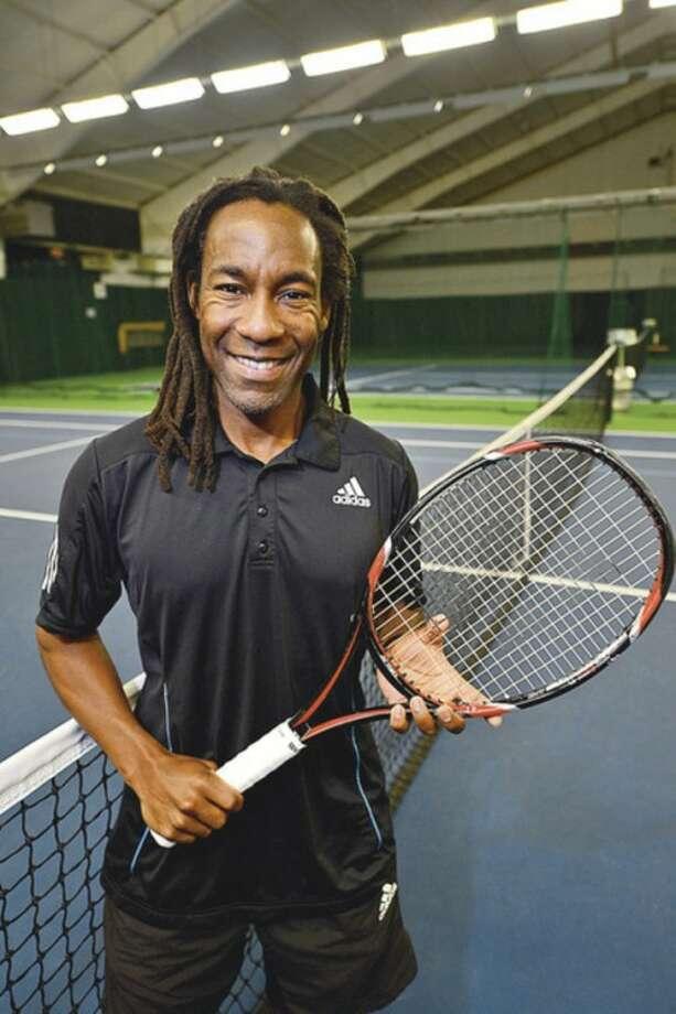 Norwalk resident Gwinyai Zengeni was recently named director of tennis at Shippan Racquet Club.Hour photo / Erik Trautmann