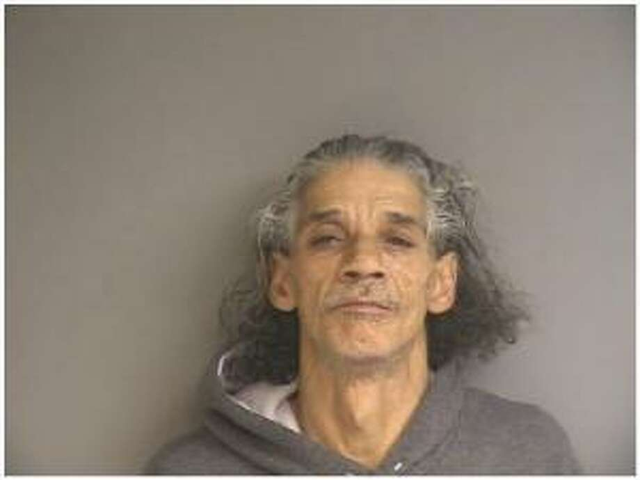 This booking photo, provided by the Stamford Police Department, shows 57-year-old Donald Pirro. Pirro is accused of selling heroin out of his senior living apartment.