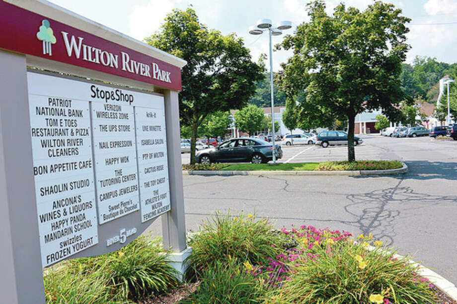The Wilton River Park shopping center recently sold for $39 million. It is the home of Shop & Stop Supermarket and 20 other shops.Hour photo / Erik Trautmann / (C)2012, The Hour Newspapers, all rights reserved