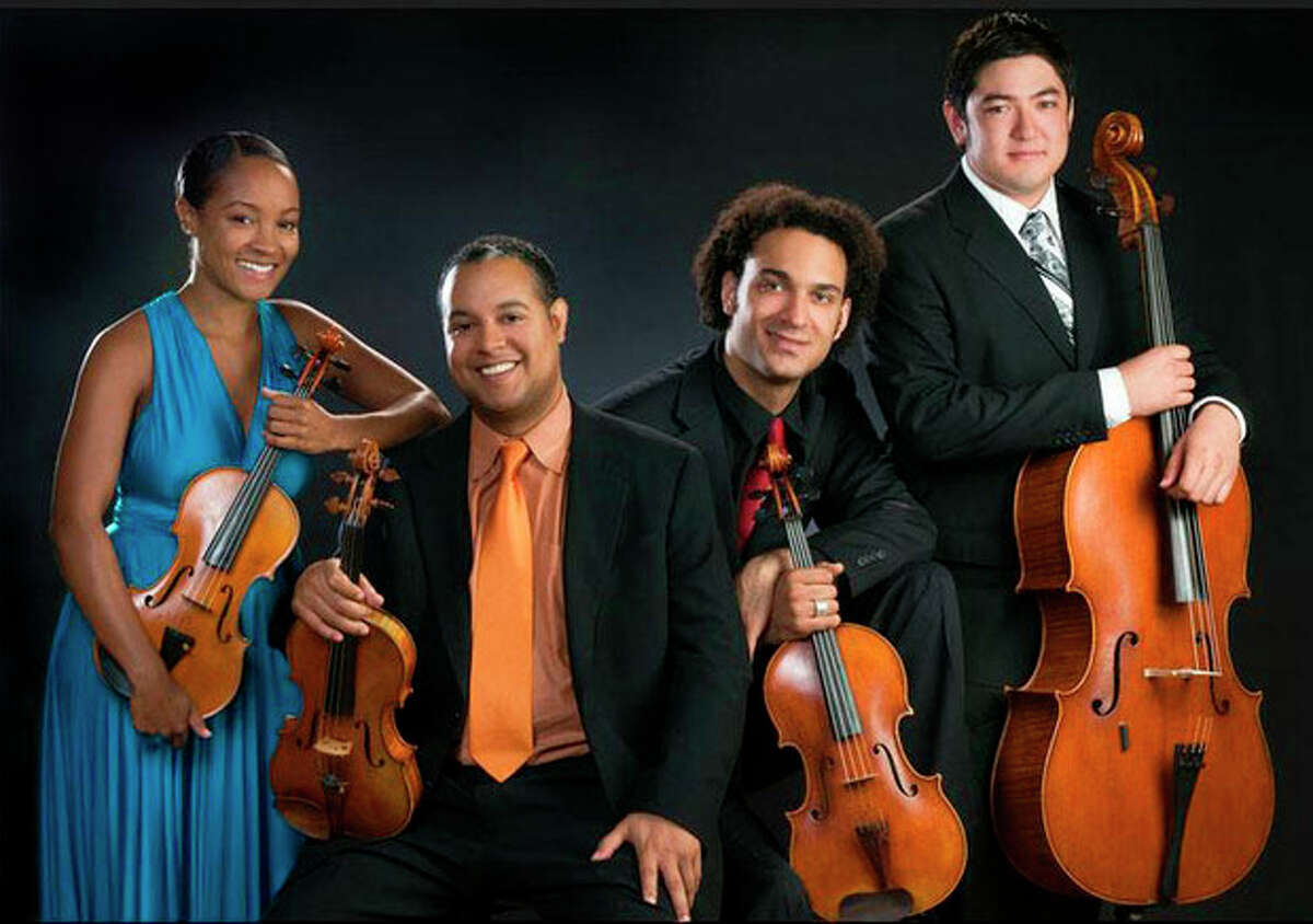 The Harlem String Quartet will perform at the Westport Arts Center on Sunday, Aug. 12, in this year's the first concert of WAC Chamber Music Series. Contributed photo