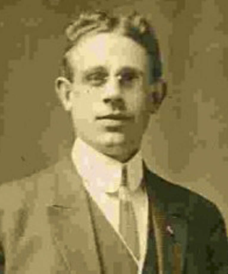 This undated photo provided by the Bridgeport History Center, Bridgeport Library, shows Oscar Palmquist, who survived the sinking of the Titanic in 1912, only to be found dead more than a decade later in a shallow reservoir near his home in Connecticut. This weekend a headstone will be dedicated to mark his grave at Mountain Grove Cemetery in Bridgeport, provided by an association that recognizes lesser known steerage passengers whose families were often too poor to place a stone. (AP Photo/Bridgeport History Center, Bridgeport Library) NO ARCHIVING
