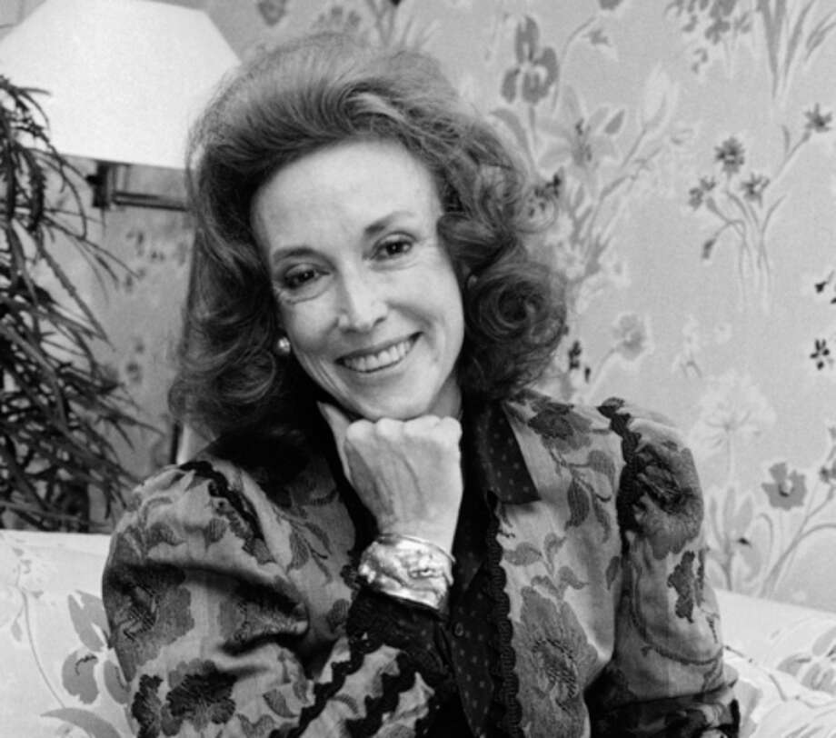 FILE - In this Sept. 20, 1982 file photo, Cosmopolitan editor Helen Gurley Brown poses during an interview at her office in New York. Brown, longtime editor of Cosmopolitan magazine, died Monday, Aug. 13, 2012 at a hospital in New York after a brief hospitalization. She was 90. (AP Photo/Marty Lederhandler, File) / AP
