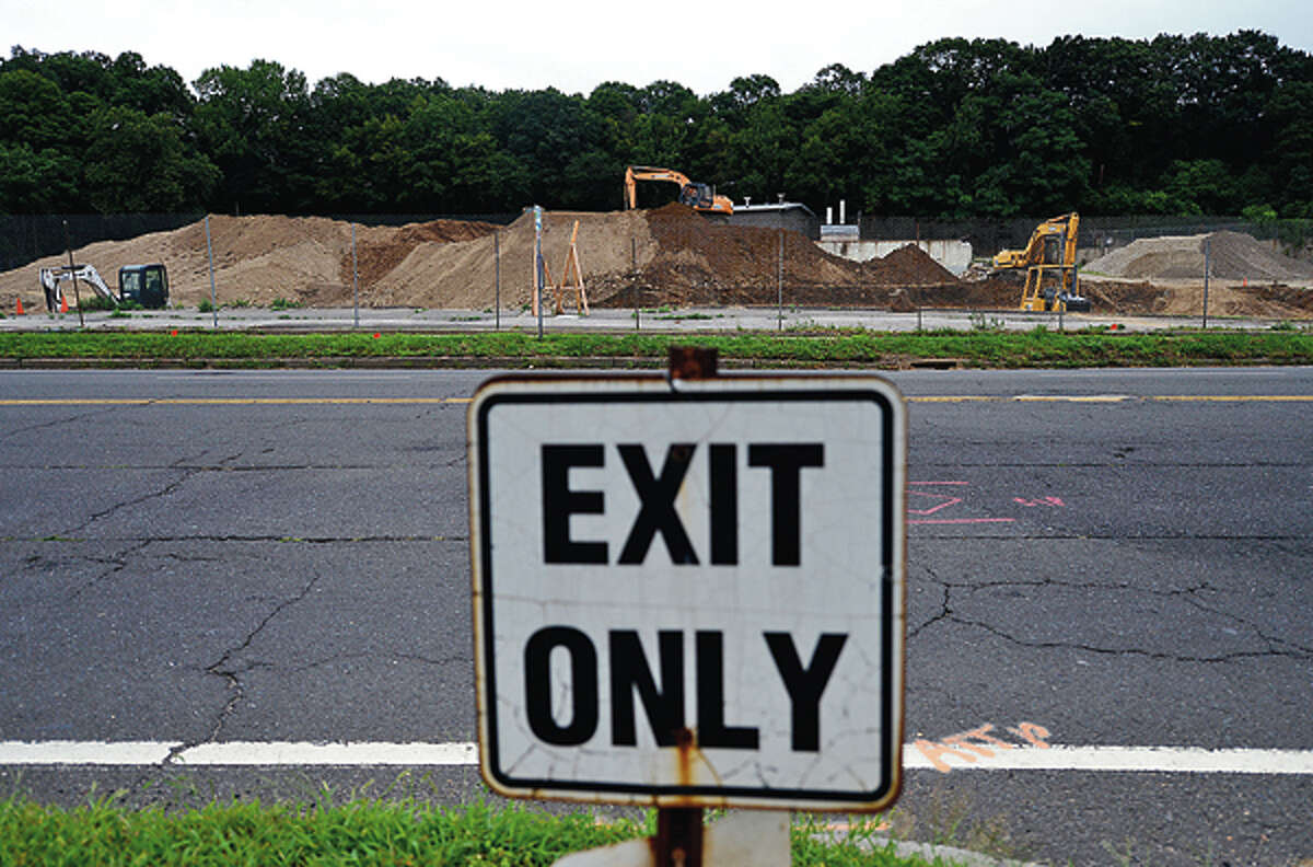 The former Elinco property on Main Ave may be the new location for a BJ's Wholesale outlet. Hour photo / Erik Trautmann