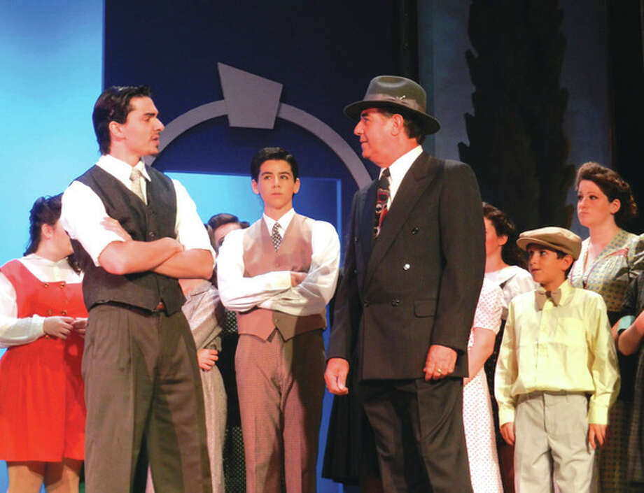 """Contributed photoStamford Mayor Michael Pavia performs in Curtain Call's Summer Youth Theatre production of """"Kiss Me, Kate"""" on Saturday, Aug. 11"""