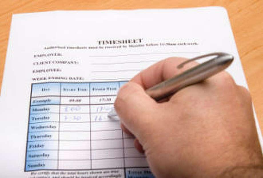 Supervisor fired for adjusting employee's time sheet