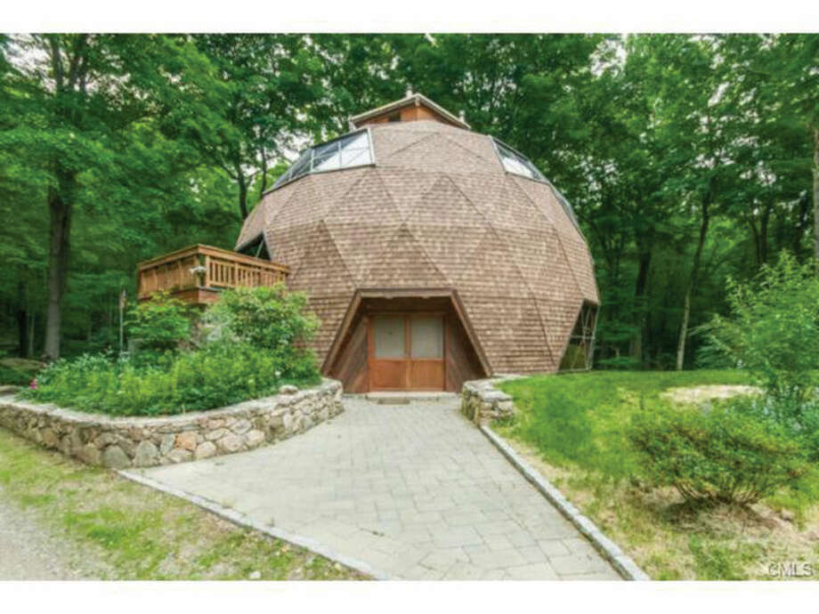 This photo taken from an online listing on the William Raveis website shows the home of Edward and SuAnne Ramsey. The geodesic dome-shaped home is currently being listed for $795,000.