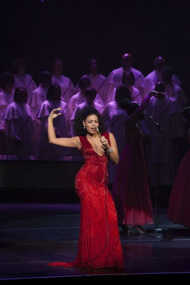"AP photoThis undated film image released by TriStar Pictures shows Jordin Sparks in a scene from ""Sparkle."""