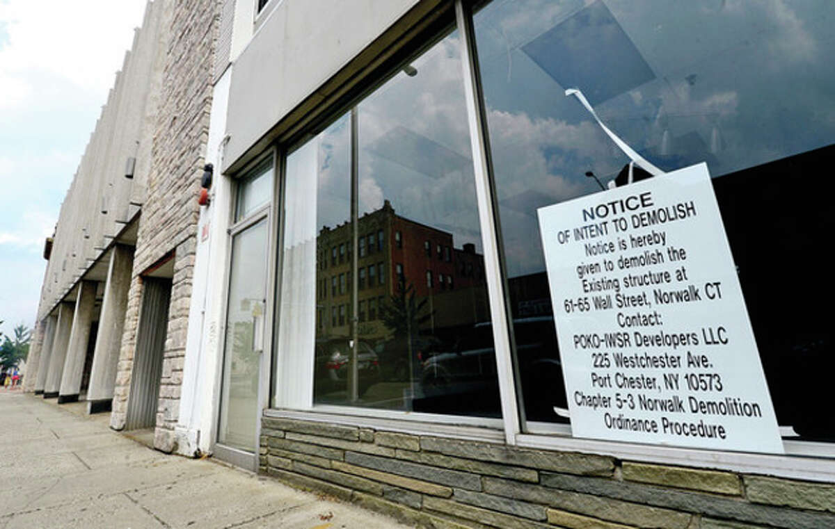 The Norwalk Redevelopment Agency Commission votes on payback plan for $150,000 pre-development loan extended to Wall Street Place developer POKO Partners, LLC. Hour photo / Erik Trautmann