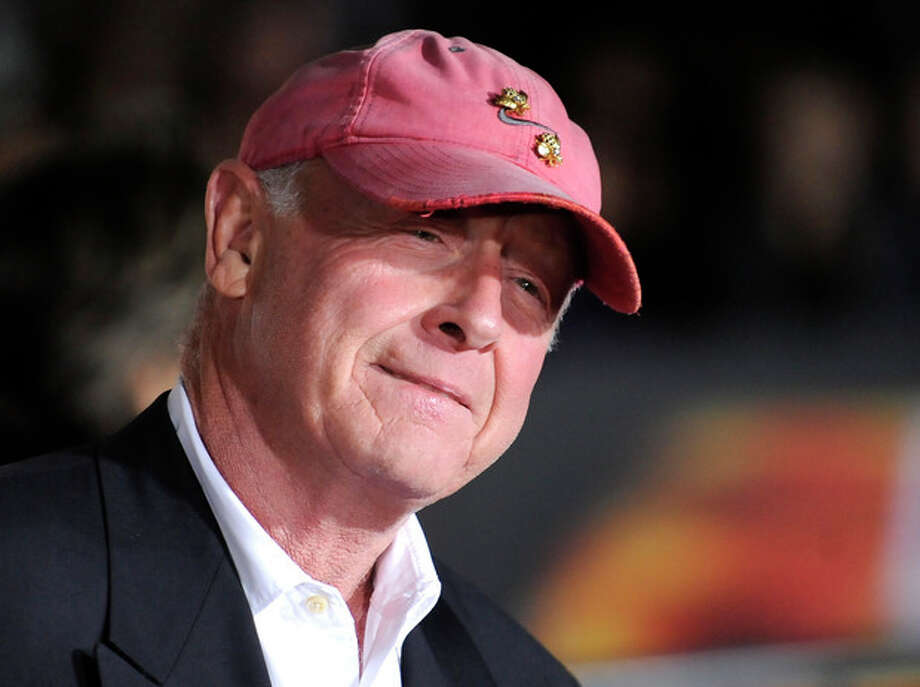 "CORRECTS WORD OFF IN SECOND SENTENCE -- FILE - In this Oct. 26, 2010 file photo, director Tony Scott arrives at the premiere of ""Unstoppable"" in Los Angeles. Authorities say Scott died after jumping off a bridge in Los Angeles on Sunday, Aug. 19, 2012. (AP Photo/Gus Ruelas, File) / FR157633 AP"