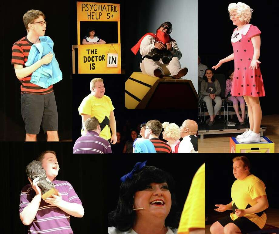 """You're a Good Man, Charlie Brown,"" the musical production by Darien Arts Center Stage, has received five nominations for the 2016 On Stage Critics Awards. Photo: Contributed Photo"