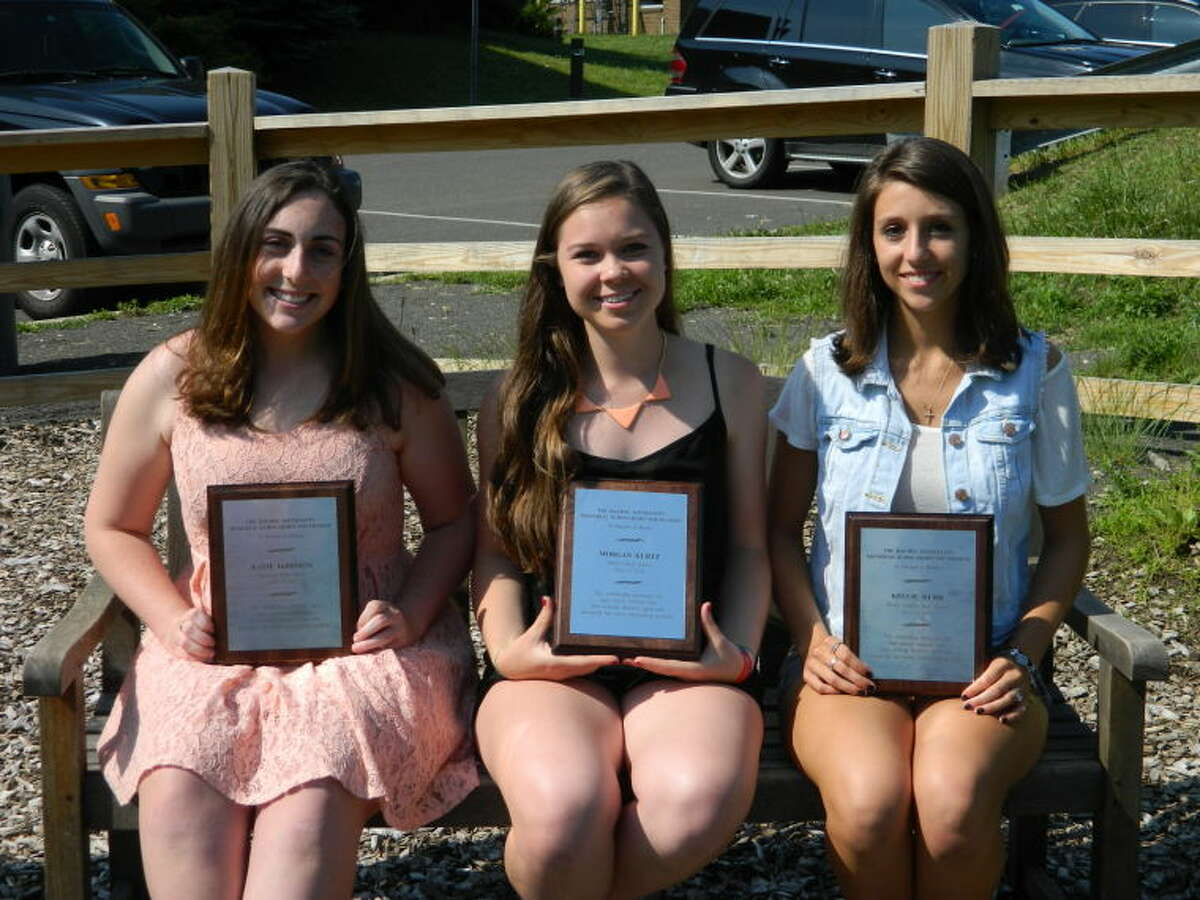 """The Rachel Sottosanti Memorial Scholarship Fund is proud to award Katie DeBrisco from Stamford High School, Morgan Kurtz from Westhill High School, and Kellie Hurd from Trinity Catholic High School with """"The 2013 Rachel Sottosanti Memorial Scholarship"""". Rachel Sottosanti was a huge asset to her community, a loving sister, a caring daughter, an always-there-for-you friend, a hard working student, and an outstanding athlete. Katie, Morgan, and Kellie embody many, if not all, of these characteristics. This years awards were presented at the 4th Annual Rae's Day 5k Run/3K Walk at Cove Island in Stamfordon May 19th.The proceeds from the event will go to educate parents/teens in our community regarding raising awareness about mental illness/depression and preventing teen suicide. The Rachel Sottosanti Memorial Scholarship Fund would like to wish the best of luck to Katie at Penn State, Morgan at The George Washington University, and Kellie at the University of Rhode Island. We are very proud of all of you and your hard work."""
