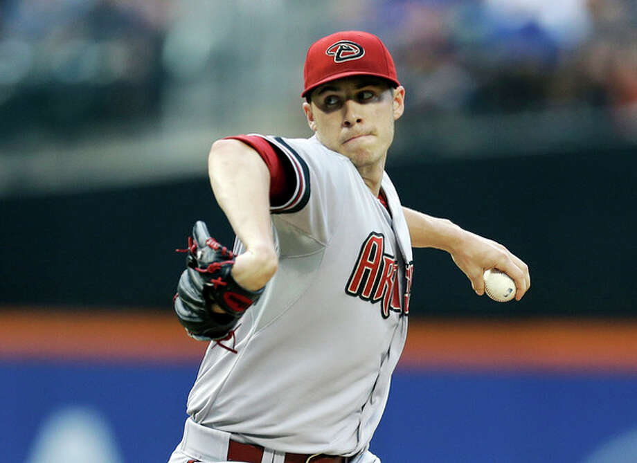 Arizona Diamondbacks' Patrick Corbin delivers a pitch during the first inning of a baseball game against the New York Mets Tuesday, July 2, 2013, in New York. (AP Photo/Frank Franklin II) / AP