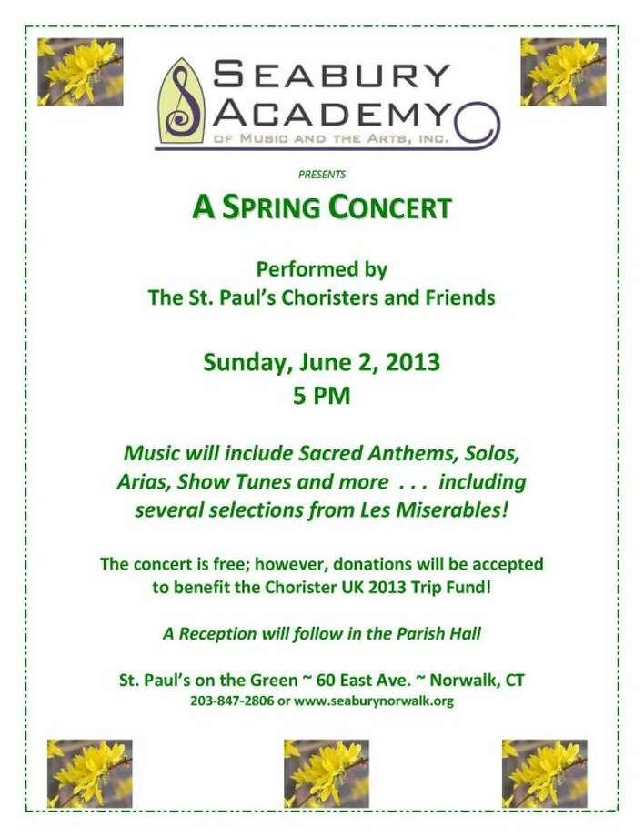 Spring Concert Flyer