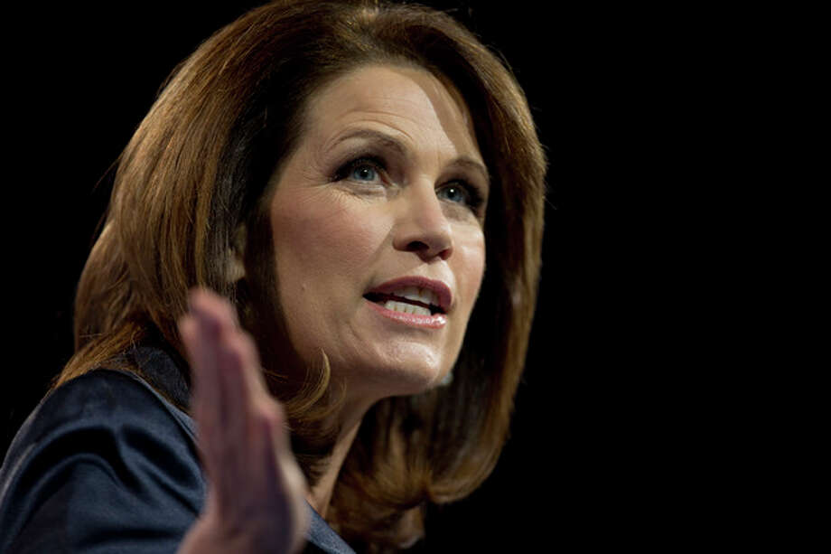 FILE - In this March 16, 2013 file photo, Rep. Michele Bachmann, R- Minn., speaks at the 40th annual Conservative Political Action Conference in National Harbor, Md. Bachmann said Wednesday, May 29, 2013, that she will not run for re-election in 2014. (AP Photo/Carolyn Kaster) / AP