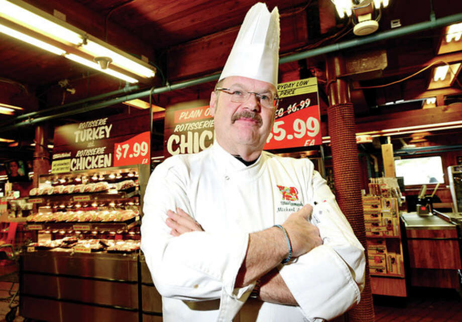 Hour photos / Erik TrautmannChef Michael Luboff has been named Stew Leonard's new executive chef and director of culinary operations for the chain's stores, including those in Norwalk, Danbury and Yonkers, replacing George Llorens. / (C)2013, The Hour Newspapers, all rights reserved