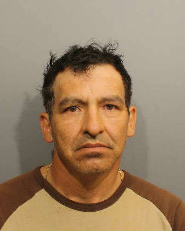 This photo provided by the Wilton Police Department shows Raul Sarmiento-Idrovo, who is accused of a possessing a forged green card.