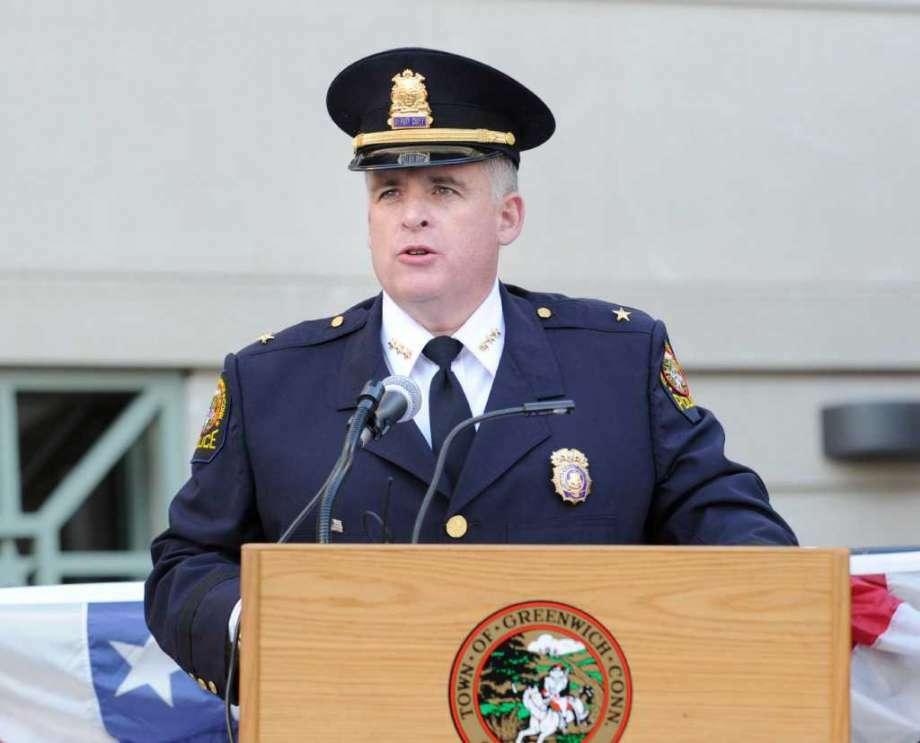 Greenwich Police Chief James Heavey