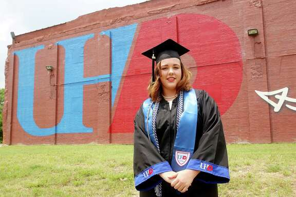 Heather Strange graduates from UHD this Spring. Photo by Pin Lim.