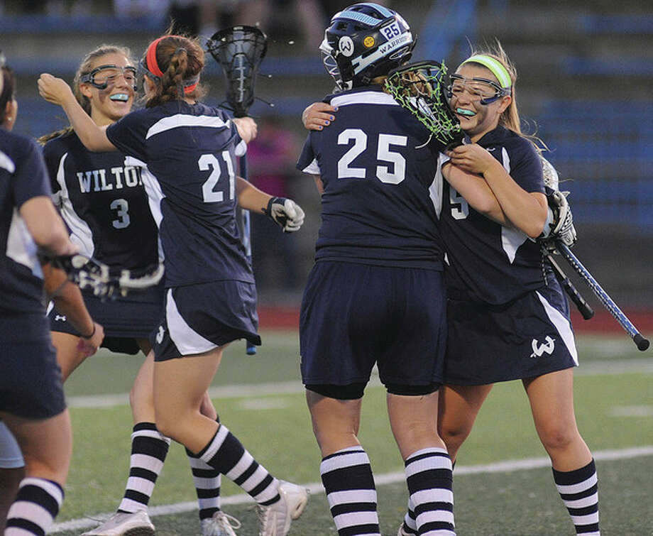 best sneakers a6a25 c6446 HS girls lacrosse: Wilton tops East Lyme, will face New ...