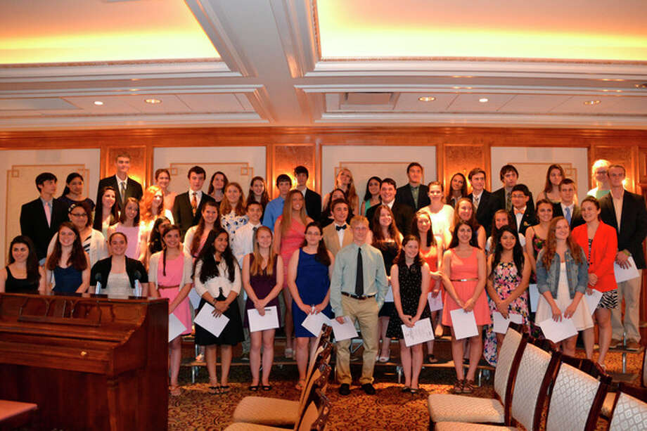 Contributed photoThe Norwalk High School National Hoor Society all appear in this photo.
