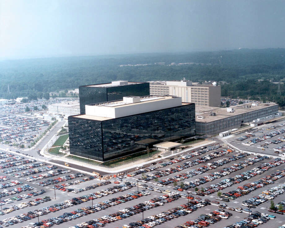 "This undated US government photo shows an aerial view of the National Security Agency (NSA) in Fort Meade, Md. The Obama administration on Thursday defended the National Security Agency's need to collect telephone records of U.S. citizens, calling such information ""a critical tool in protecting the nation from terrorist threats."" (AP Photo/US Government) / US Government"