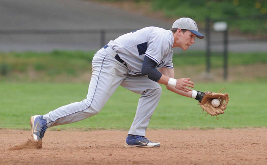 Hour photo/John NashInfielder Brett Phillips will be one of the key players for the Wilton American Legion baseball team this summer. Phillips is among the group of Wilton High players being counted upon by Post 86 coach Ian Thoesen, who is beginning his 13th year at the program's helm.