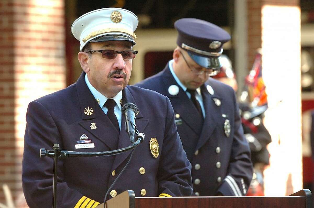 The Wilton Fire Department's deputy chief is among a large number of applicants seeking to be the town's newest fire chief, a position expected to be filled in late fall.
