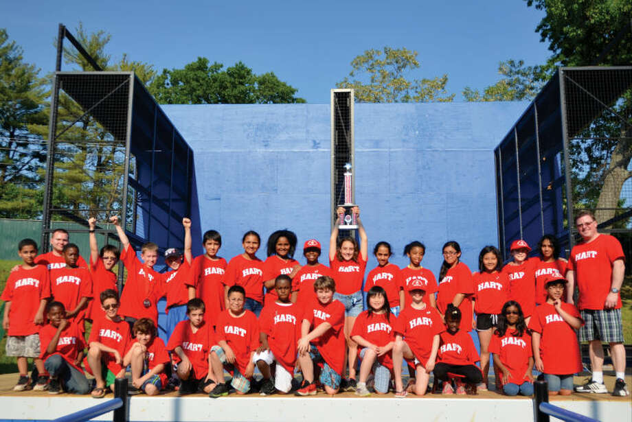 Hart Magnet School's jazz ensemble defied the odds at Music in the Parks at Lake Compounce last weekend. The 29 member-strong JazzHeart group won 1st Place Best Jazz Ensemble and was rated superior by the event's judges and saxophone player Max Schoepfer took home the 1st Place Best Jazz Soloist award.