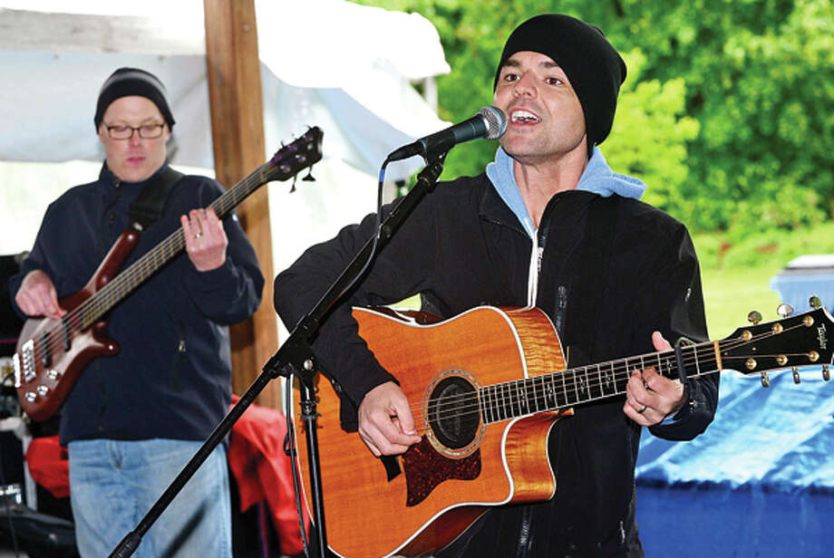 PJ Pacifico plays at Music for Angels benefit concert Saturday at Cranbury Park. The concert will benefit the Tiny Miracles Foundation. Hour photo / Erik Trautmann / (C)2013, The Hour Newspapers, all rights reserved