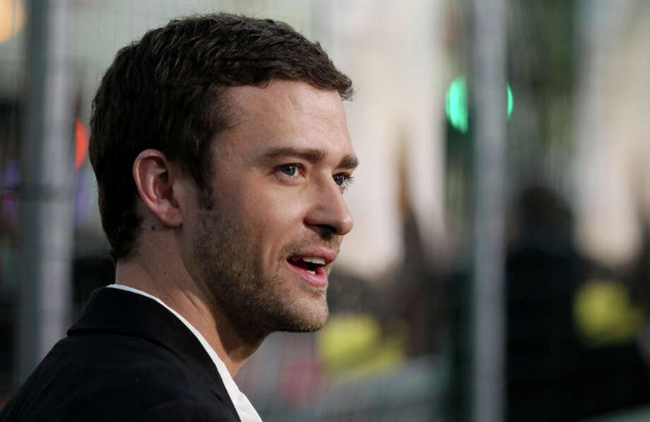 "Cast member Justin Timberlake attends the premiere of ""Trouble With the Curve"" at the Westwood Village Theater on Wednesday, Sept. 19, 2012, in Los Angeles. (Photo by Matt Sayles/Invision/AP) / Invision"