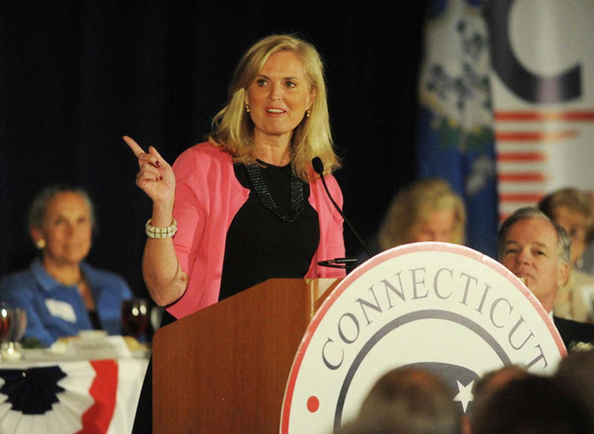 Ann Romney is the keynote speaker at the Prescott Buch Awards Dinner Monday night at the Stamford Marriott Hotel. photo/Matthew Vinci