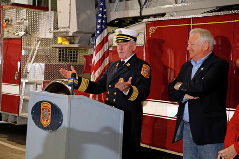 Hour file photo / Danielle RobinsonFire Chief Denis McCarthy.