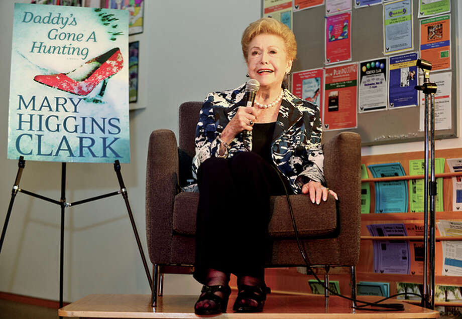 World reknowned author Mary Higgins Clark visits the Wilton Public Library Friday night for a brief biography, reading and book signing. Hour photo / Erik Trautmann / (C)2013, The Hour Newspapers, all rights reserved