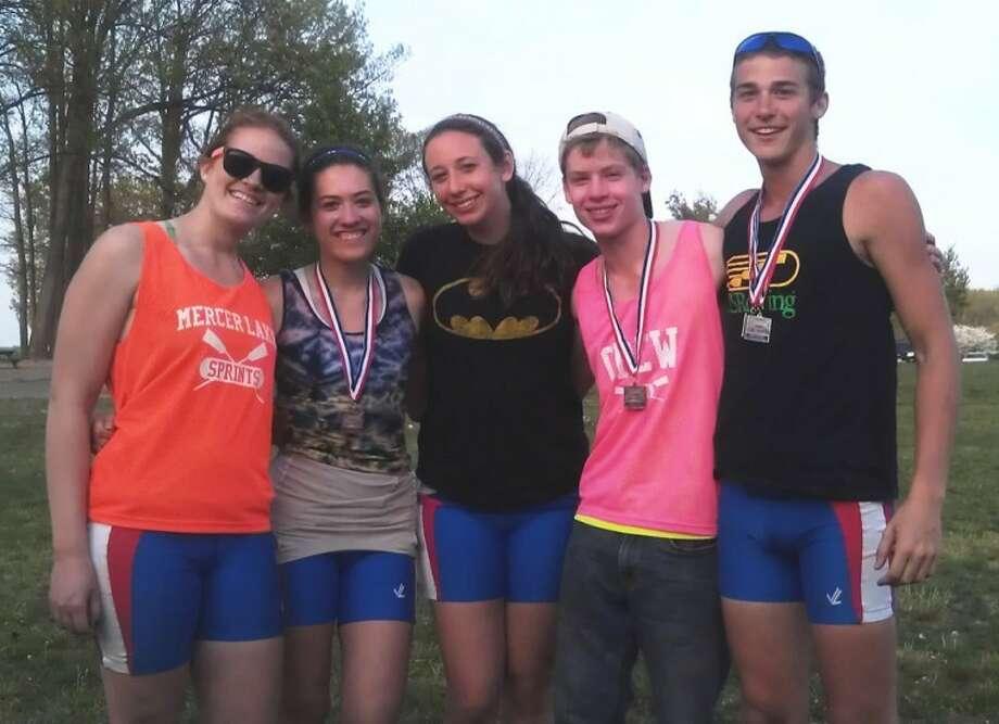 Norwalk rowers