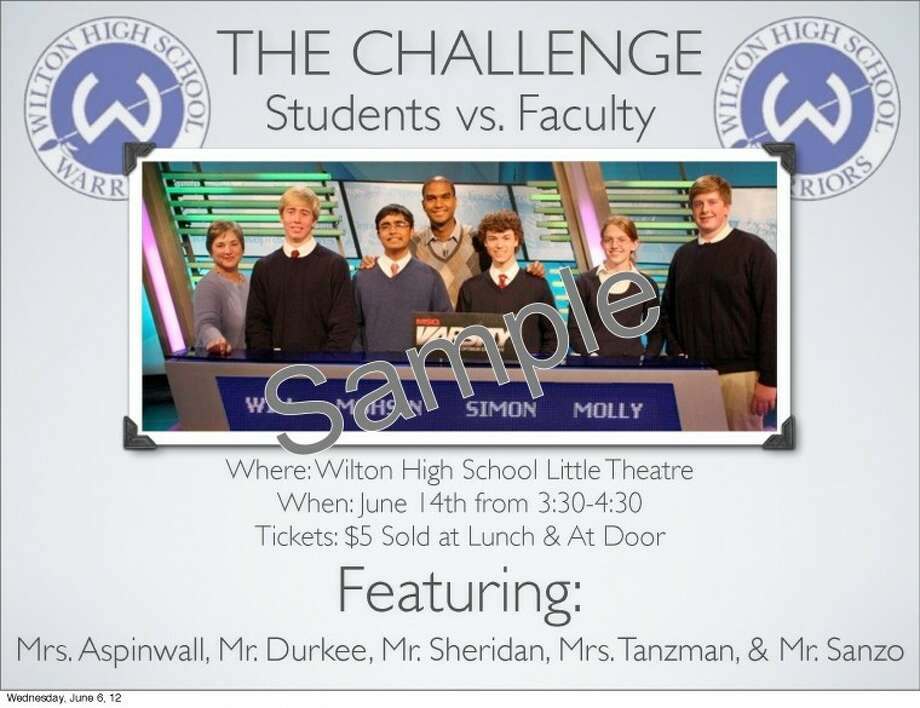 WHS Challenge team