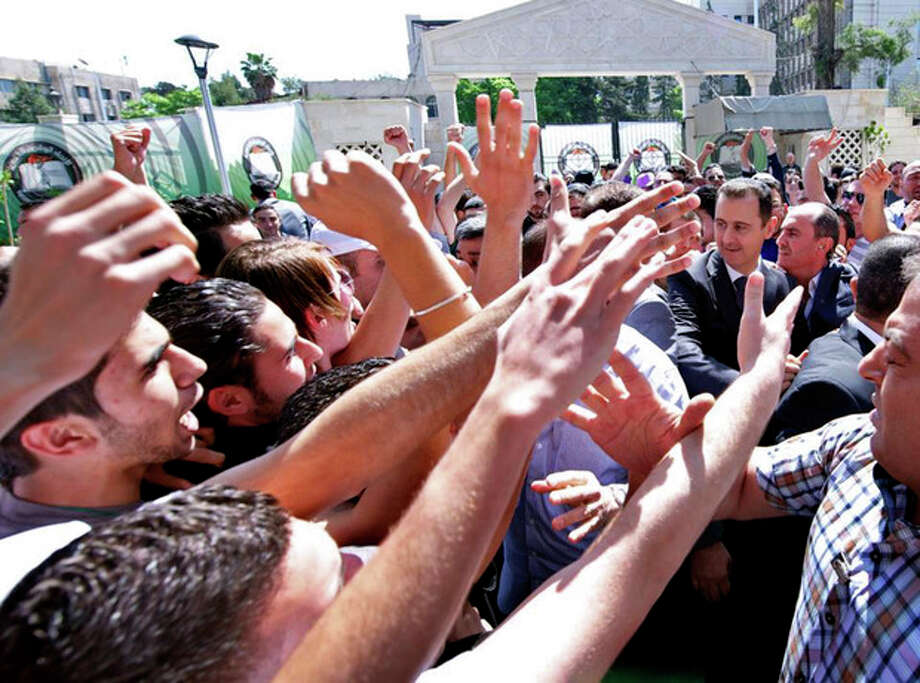 / THE OFFICIAL FACEBOOK PAGE OF SYRIAN PRESIDENT BASHAR ASSAD