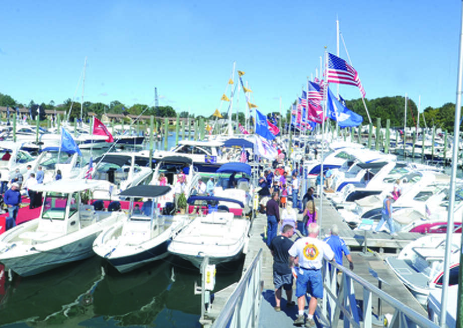 The Norwalk Boat Show in Norwalk. hour photo/Matthew Vinci