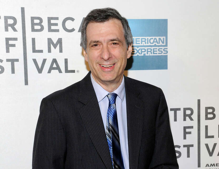 """FILE - This April 25, 2012 file photo shows journalist Howard Kurtz at the world premiere of """"Knife Fight"""" during the 2012 Tribeca Film Festival in New York. Kurtz is apologizing for several errors in a column he wrote about gay basketball player Jason Collins this past week. Kurtz, host of CNN's """"Reliable Sources,"""" brought two other media critics onto his show Sunday, May 5, 2013, to question him about the story written on The Daily Beast suggesting Collins had hidden a previous engagement to a woman when he came out as gay in a Sports Illustrated story. Kurtz said he was not only wrong in the facts, he shouldn't have written the story in the first place and was too slow to correct himself. (AP Photo/Evan Agostini, File) / AGOEV"""