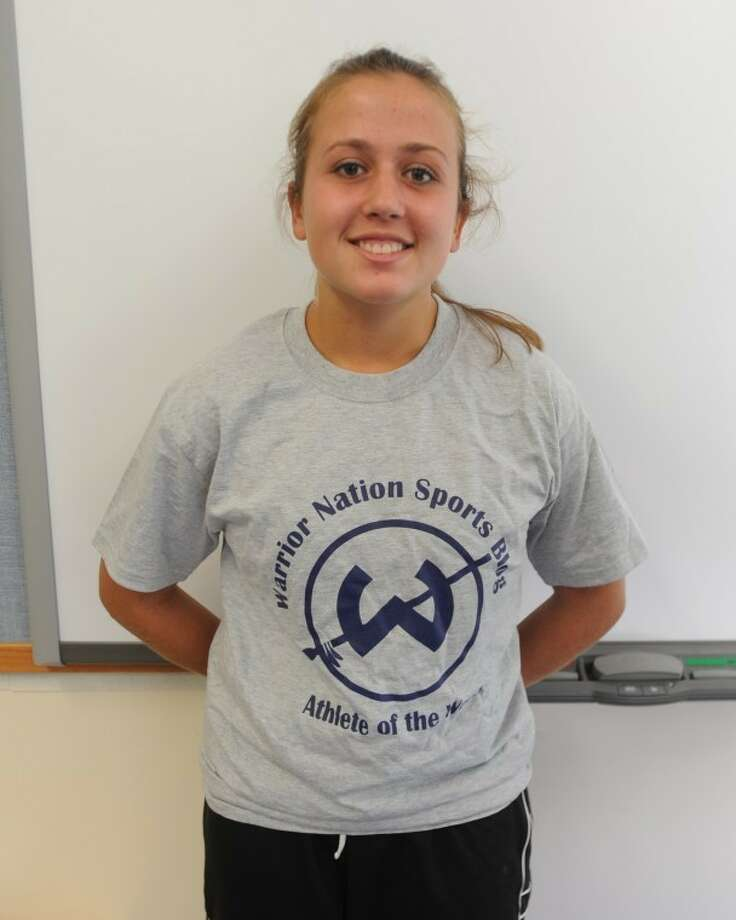 Madison Hendry - Warrior Nation Sports Blog/Trackside Teen Center Athlete of the Week