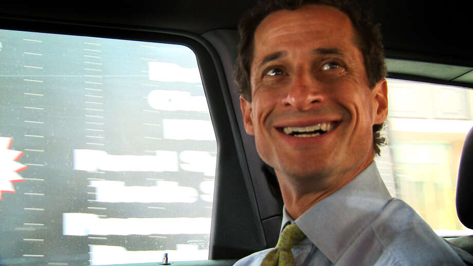 "This image released by IFC Films shows Anthony Weiner in a scene from the documentary, ""Weiner."" (IFC Films via AP) Photo: Associated Press / IFC Films"