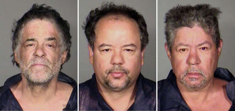 This undated combination photo released by the Cleveland Police Department shows from left, Onil Castro, Ariel Castro, and Pedro Casto.The three brothers were arrested Tuesday, May 7, 2013, after three women who disappeared in Cleveland a decade ago were found safe Monday. The brothers are accused of holding the victims against their will. (AP Photo/Cleveland Police Department) / Cleveland Police Department