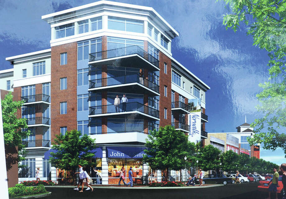 The future plans by POKO partners for the new 65 Wall Street location in Norwalk. hour photo/Matthew Vinci