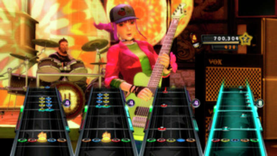 "FILE - In this file photo of a video game image released by Activision, a scene is shown from the game, ""Band Hero."" Court records show the band and ""Band Hero"" maker Activision Publishing Inc. settled a lawsuit that No Doubt filed in 2009 claiming they never gave permission for players to use their digital likenesses to sing other artists' songs. (AP Photo/Activision) / Activision"