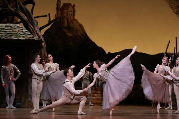 """Houston Ballet soloists Elise Elliott and Oliver Halkowich are among the featured performers in Stanton Welch's """"Giselle."""""""