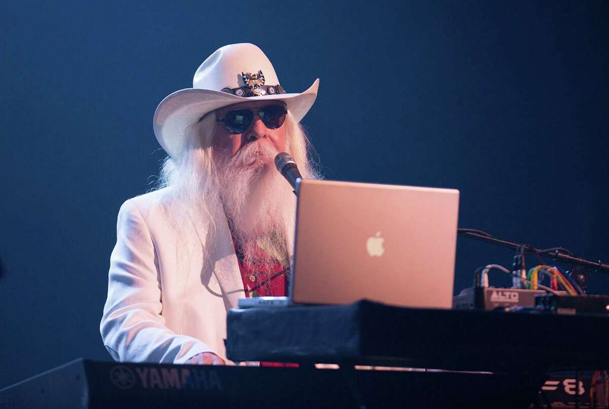 Singing the Blues Leon Russell, a rock, blues and country singer, performed frequently in the Houston area.
