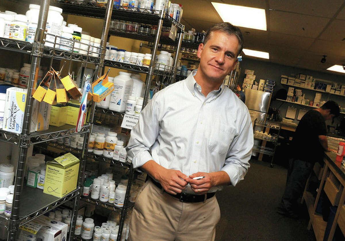 Scott Wolak President Connecticut Pharmacy in Norwalk. hour photo/Matthew Vinci