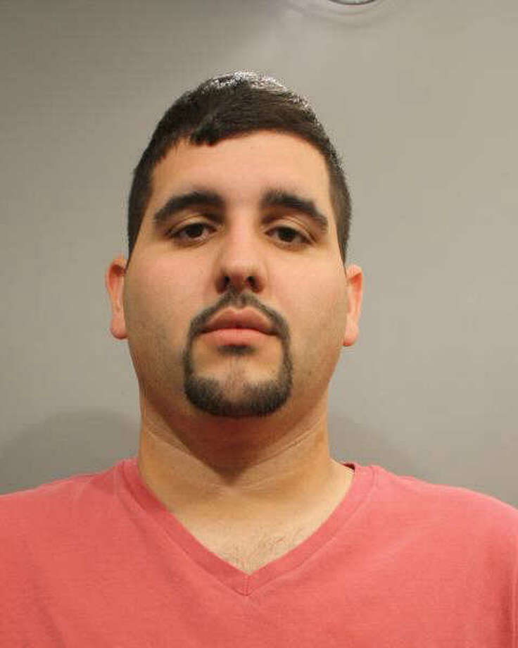 This booking photo, provided by the Wilton Police Department, shows Pedro Soto. Police say Soto stole 16 laptops from Sun Products Corp., located at 60 Danbury Road.