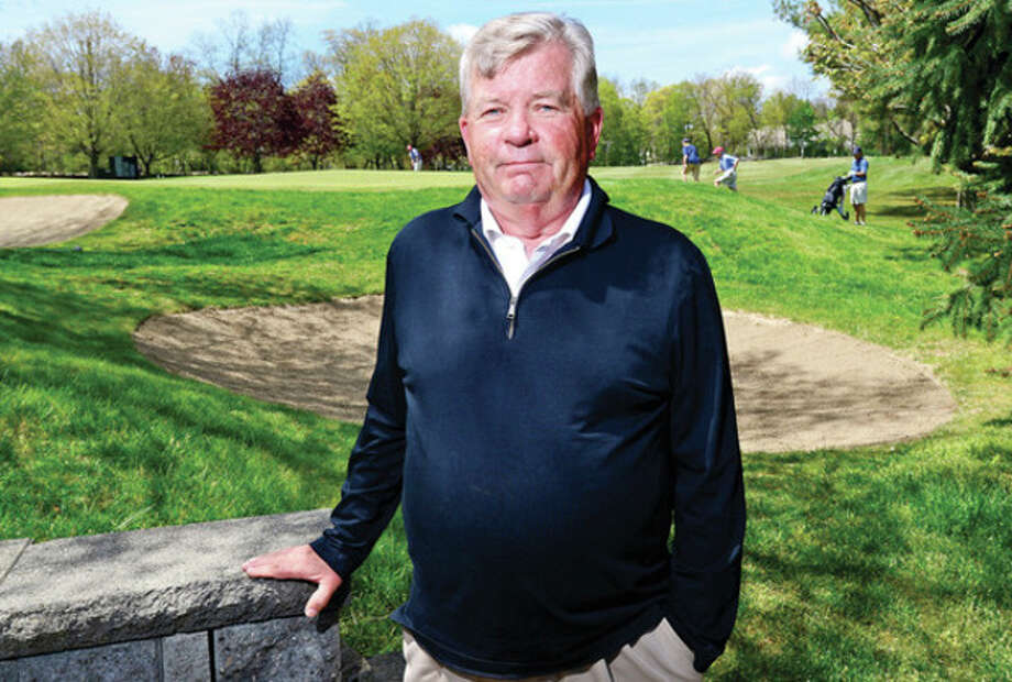 Hour photo/Erik TrautmannLarry Pakkala is the new Superintendent of Golf Courses at Silvermine Golf Course. / (C)2013, The Hour Newspapers, all rights reserved
