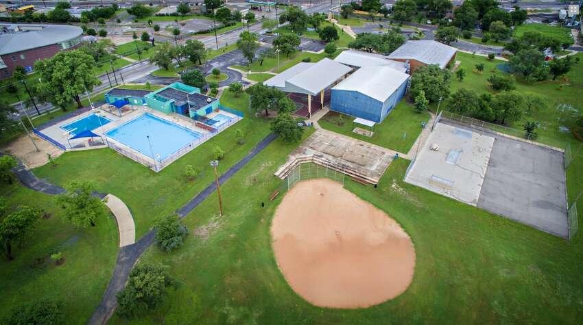 Cuellar Park Pool Address: 502 S.W. 36th St. Pool Phone Number: 210-434-8028.